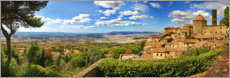 Aluminium print  Volterra is a picturesque town in Tuscany - fotoping