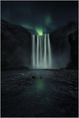 Acrylic print  Green night - Jorge Ruiz Dueso