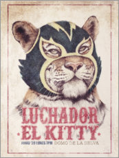 Premium poster  El Kitty - Mike Koubou
