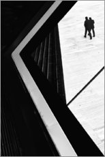 Premium poster  The conspiracy theory - Paulo Abrantes