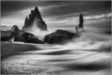Canvas print  Coast of Iceland - Philip Eaglesfield