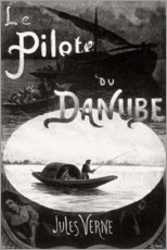 Premium poster The Donaupilot (french)