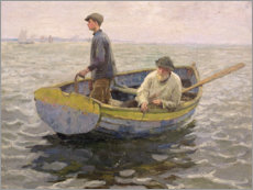 Wall sticker  In the Whiting Ground - Harold Harvey