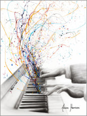 Canvas print  The Keyboard Solo - Ashvin Harrison