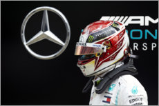Canvas print  Lewis Hamilton, Russian GP 2019