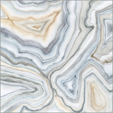 Canvas print  Agate Abstract II - Megan Meagher