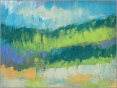 Canvas print  Impasto Field II - Jennifer Goldberger