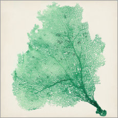 Premium poster Sea fans deep green