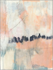 Foam board print  Blush & Navy II - Jennifer Goldberger