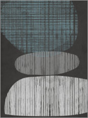 Foam board print  Resting Shapes II - Jennifer Goldberger