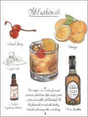 Premium poster Classic Cocktail - Old Fashioned