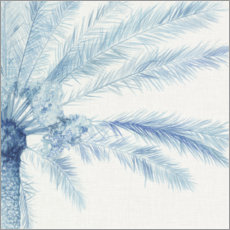 Premium poster  Chambray Palms II - Megan Meagher