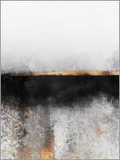 Canvas print  Soot And Gold - Elisabeth Fredriksson