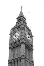 Premium poster  Big Ben, London - Nora Frei