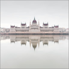 Wall sticker  Parliament building, Budapest - Philipp Dase