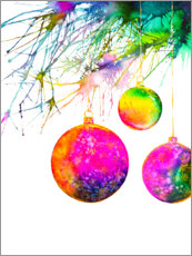 Premium poster Christmas Ornaments