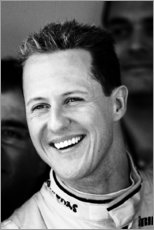 Canvas print  Michael Schumacher for Mercedes GP, F1 Barcelona 2010