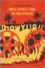 Canvas print  Once Upon a Time in Hollywood - chungkong