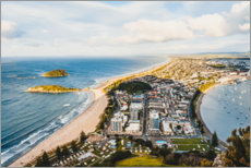 Premium poster  View over New Plymouth - Igor Kondler