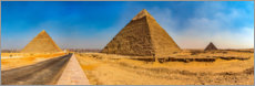 Gallery print  The pyramids of Giza - HADYPHOTO