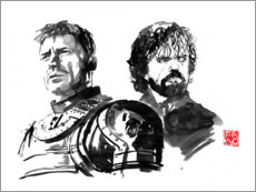 Gallery print  Jaime and Tyrion - Péchane