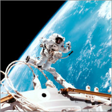 Premium poster  ISS space walk
