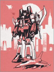 Gallery print  Starscream Transformers - 2ToastDesign