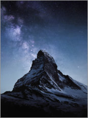Wood print  Matterhorn - Thomas Beauquesne