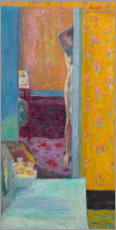 Acrylic print  Nude in an interior - Pierre Bonnard