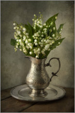 Premium poster Still life with lily of the valley