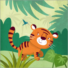 Premium poster  Little Tiger 2 - Julia Reyelt