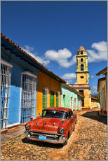 Wall sticker  Old Chevy in Trinidad - Bill Bachmann