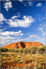 Wall sticker  Ayers Rock in the Outback - David Wall