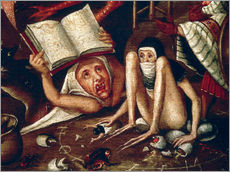Gallery print  The Hell - Hieronymus Bosch