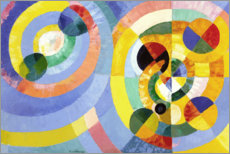 Canvas print  Circle Forms - Robert Delaunay