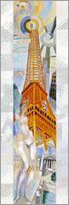 Wall sticker  The woman and the tower - Robert Delaunay