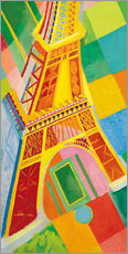 Wall sticker  Eiffel Tower - Robert Delaunay