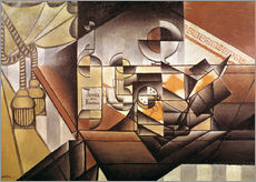 Gallery print  Composition with clock - Juan Gris