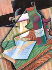 Wall sticker  The book - Juan Gris