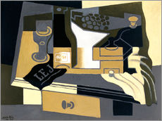 Gallery print  The coffee grinder - Juan Gris