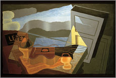 Gallery Print  View of the Bay - Juan Gris