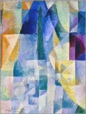 Acrylic print  Window to the city - Robert Delaunay