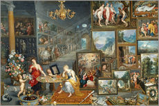 Gallery print  Sight and Smell - Jan Brueghel d.Ä.