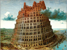 Wall sticker The Tower of Babel