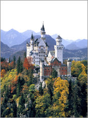 Wall sticker  Neuschwanstein Castle - Ric Ergenbright
