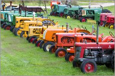 Wall sticker  Old tractors - Walter Bibikow