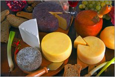 Wall sticker  Cheese plate in Tuscany - Nico Tondini