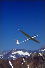 Wall sticker  Glider pilots over the mountains - David Wall