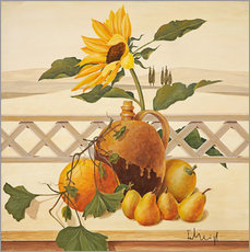 Wall sticker Autumn still life
