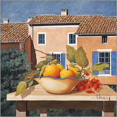 Wall sticker  Mediterranean life - Franz Heigl